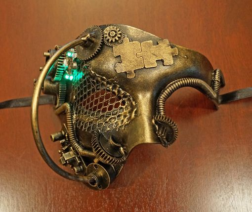 Industrial Phantom Mask Gold