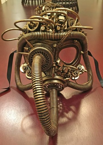 Industrial Steam Punk Gas Mask