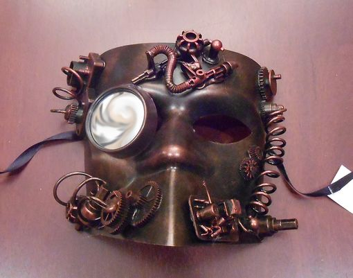 Industrial Steam Punk Mask Copper