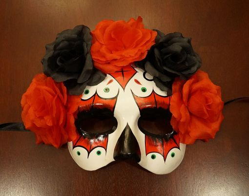 Julia Day Of The Dead Mask Red