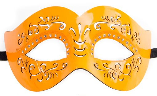 Juliette Neon Eye Mask Orange