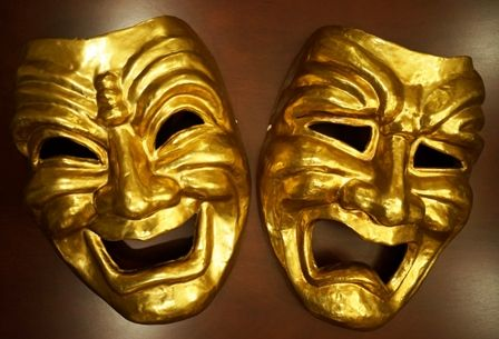 Jumbo Comedy And Tragedy Masks