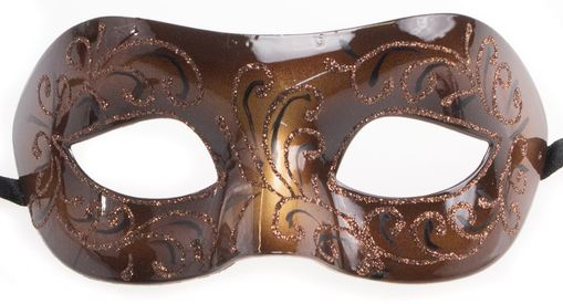 La Bonai Masquerade Eye Mask Brown