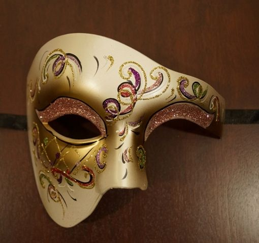 Lady Phantom Masquerade Mask