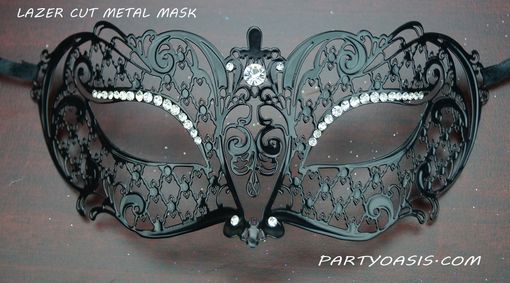 Lavina Metal Masquerade Eye Mask