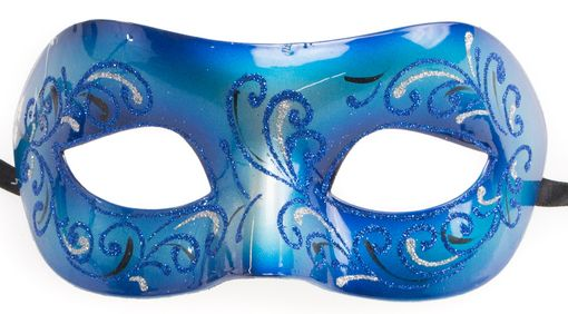 Le Bonai Masquerade Eye Mask Blue
