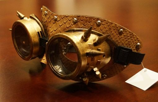 Leather Steampunk Mask