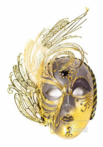 Libra Metal Mask Black
