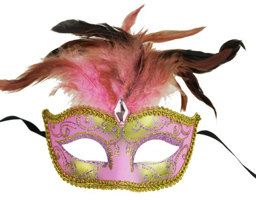 Luscious Masquerade Feather Eye Mask