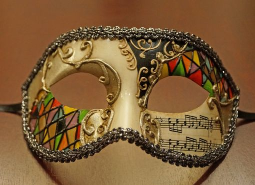 Manuus Men's Masquerade Mask