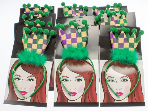 Mardi Gras Checkered Crow Party Pack