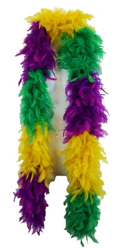 Mardi Gras Feather Boa 6 ft; 70 Grams