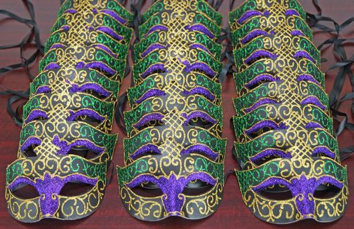 Mardi Gras Mask Party Pack