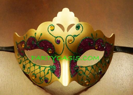 Mardi Gras Jewel  Eye Mask
