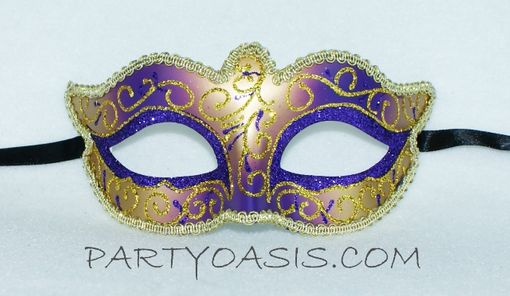 Mardi Gras Royal Masquerade Eye Mask