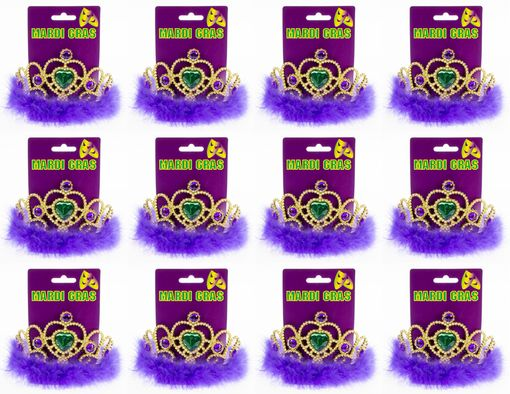 Mardi Gras Tiara Party Pack
