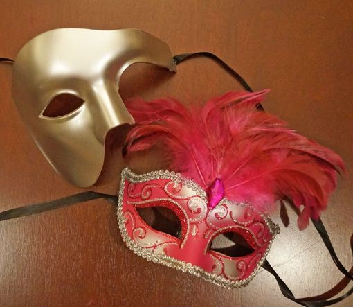 Marquee Masquerade Couples Mask