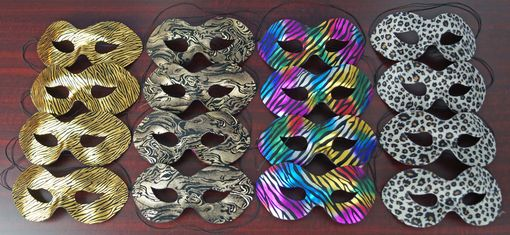 Foxy Masquerade Mask Party Pack Bulk Masks
