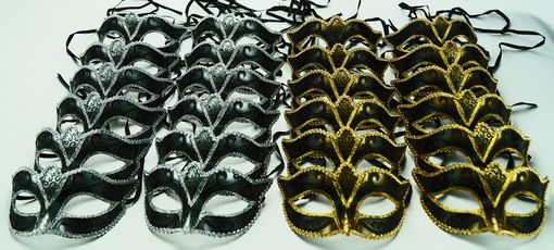 Masquerade Mask Party Pack Silver And Gold