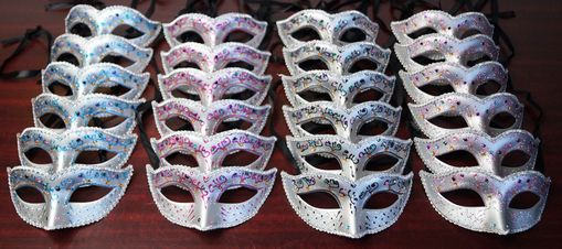 Masquerade Party 24 Piece Masks Party Pack