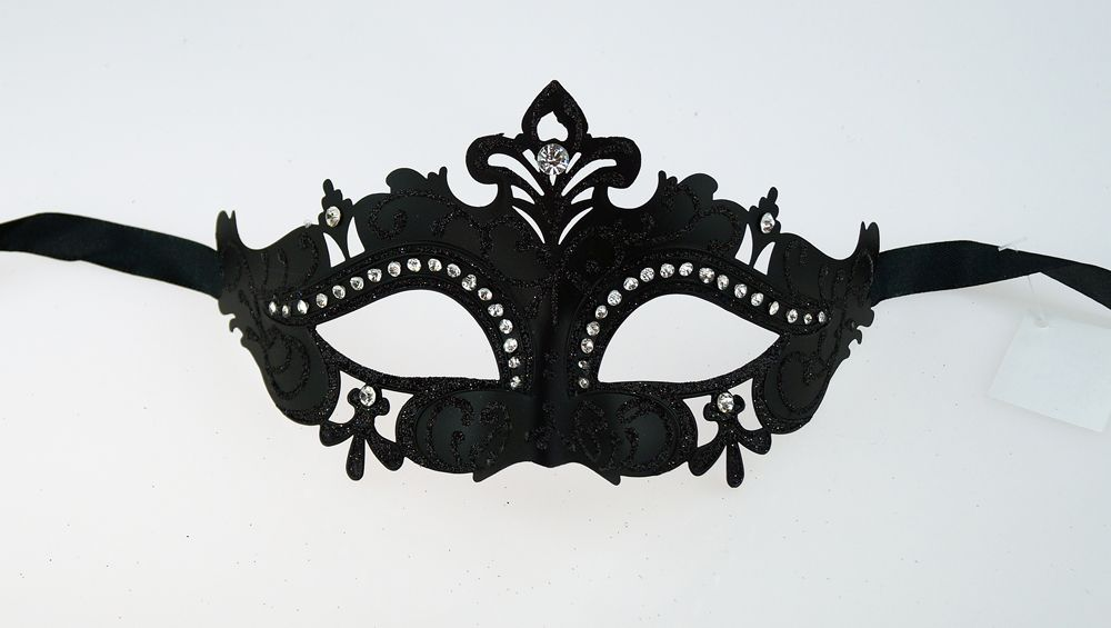Juliet Black Masquerade Mask