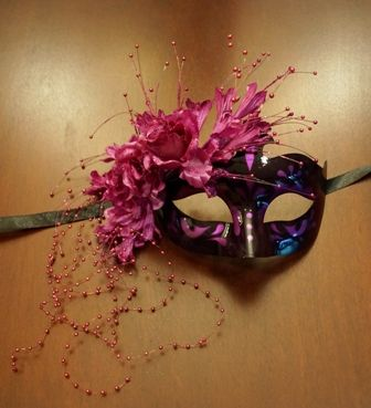 Masquerade Eye Mask Purple