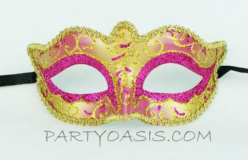 Masquerade Party Mask - Pink