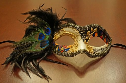 Medellin Feather Mask