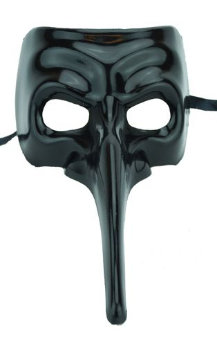 Men's Black Casanova Mask