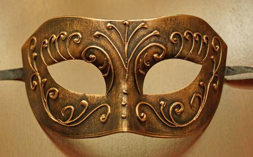 Men's Bronze  Mask