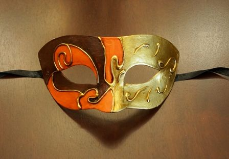 Men's Mardi Gras Eye Mask