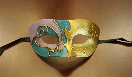 Men's Mardi Gras Mask