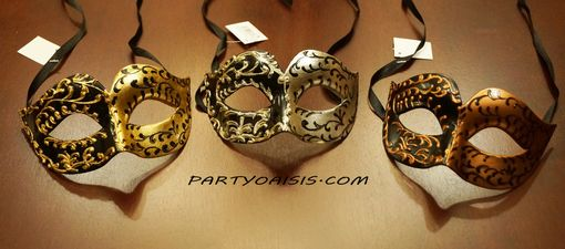 Men's Venetian Masquerade Eye Mask