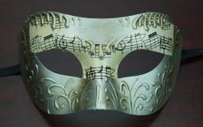 Men's Venetian Masquerade Mask