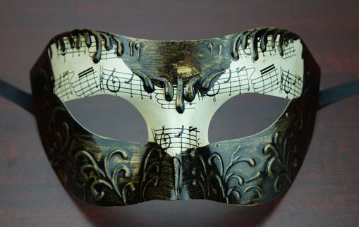 Men's Venetian Mask Dark Bronze