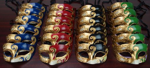 Men's Venetian Mask Party Pack For Masquerade Events