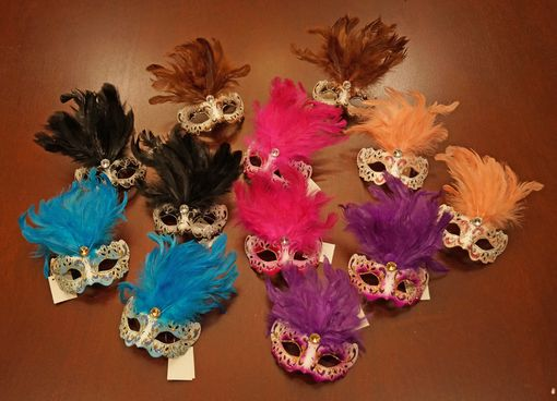 Mini Feather Mask Set