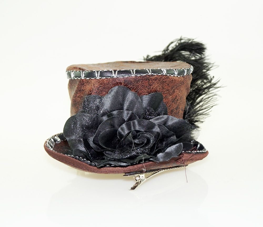 Mini Steampunk Hat Clip On