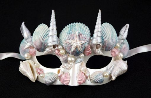 Mystical Mermaid Masquerade Mask
