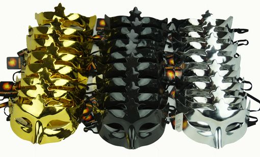 New Years Masquerade Mask Party Pack