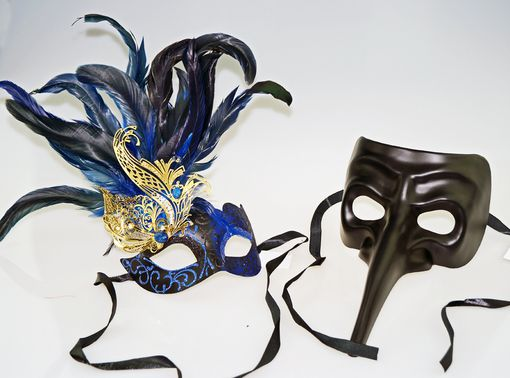 Ultimate Couples Mask Blue