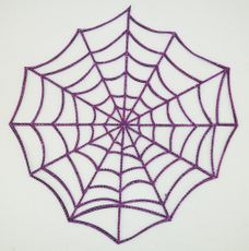 Halloween Jeweled Spider Wed 19""