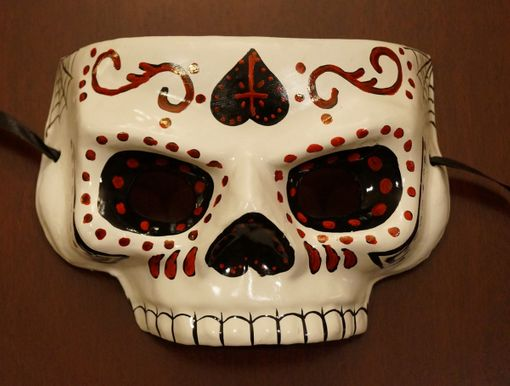 Calaca Day Of The Dead Mask