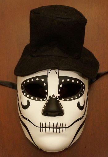 Skull Mask With Hat