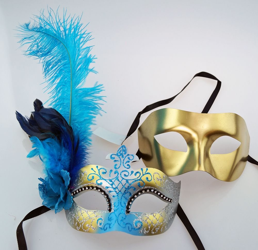 Mirage Couples Masquerade Mask Set