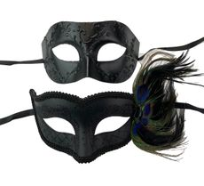 Midnight Couples Masquerade Mask His And Hers Masks