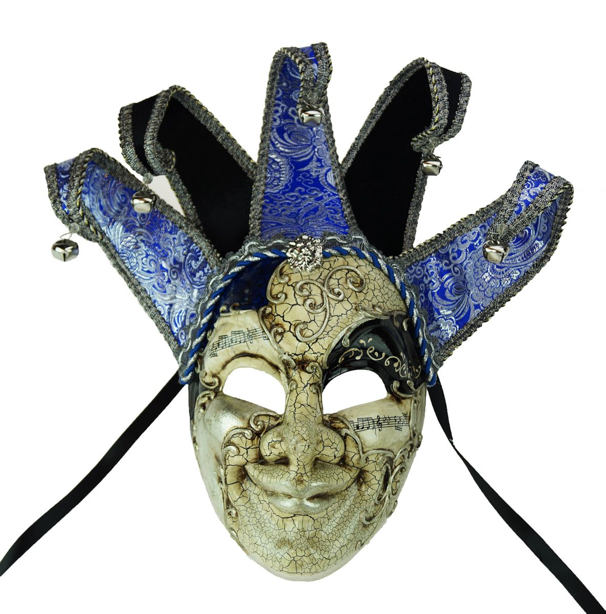 Royal Jester Mask Blue