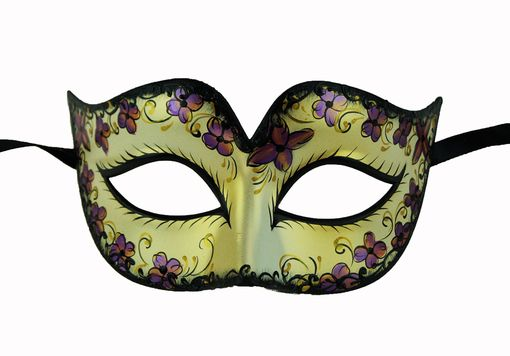 Arya Masquerade Mask Purple