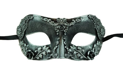Imagine Masquerade Mask Silver