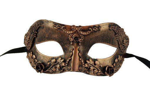 Imagine Masquerade Mask Copper